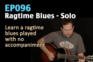 EP096 Ragtime Guitar Lesson