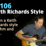 Keith Richards Guitar Lesson