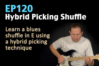 hybrid picking guitar lesson
