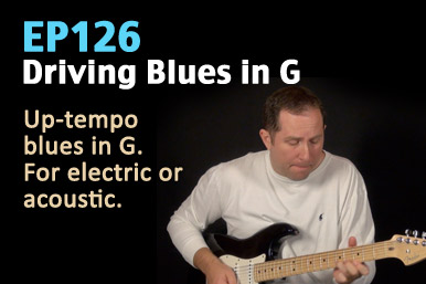 blues guitar lesson - rhythm and lead