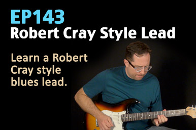 Robert Cray Style Guitar Lesson