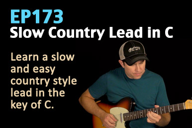 country lead guitar lesson