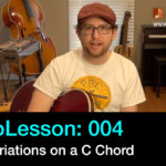 guitar lesson - variations on a c chord