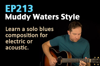 Muddy Waters blues guitar lesson