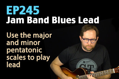 blues lead guitar lesson
