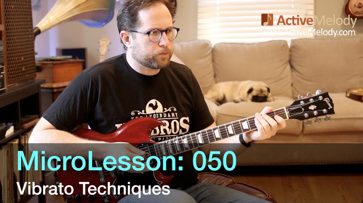 MicroLesson: 050 – Vibrato Technique – How to use Vibrato