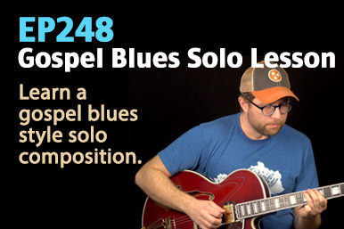 gospel blues guitar lesson