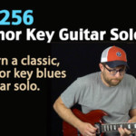 minor key blues guitar lesson