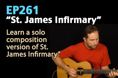 St James Infirmary Guitar Lesson