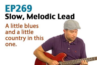 slow blues lead guitar lesson