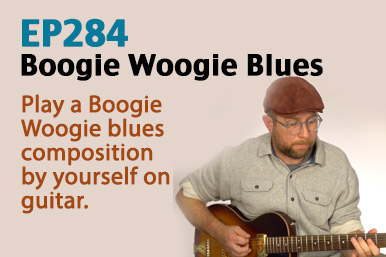 boogie woogie blues guitar lesson