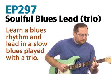 soulful blues guitar lesson