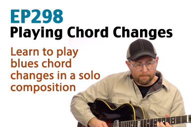 how to play chord changes on guitar