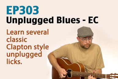 eric clapton unplugged guitar lesson