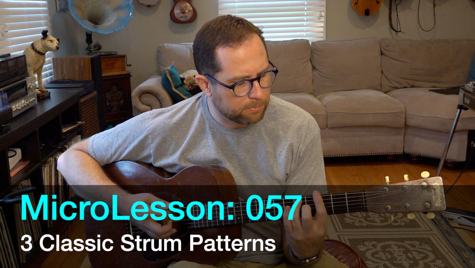MicroLesson: 057 – Learn 3 Classic Rhythm Styles on Guitar (Blues, Bluegrass, and Folk)