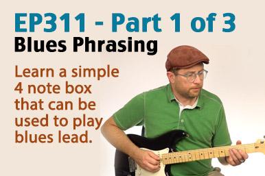 Blues phrasing guitar lesson