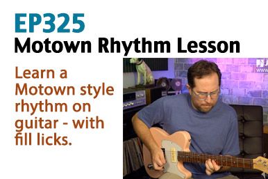 motown rhythm guitar lesson