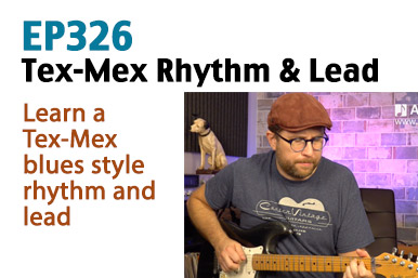 tex-mex blues guitar lesson