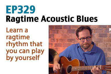 ragtime acoustic blues guitar lesson