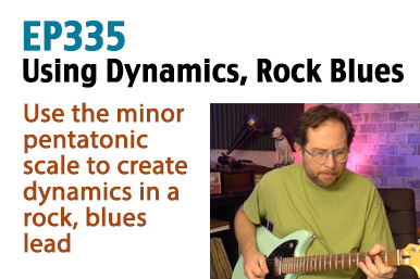 using dynamics guitar lesson