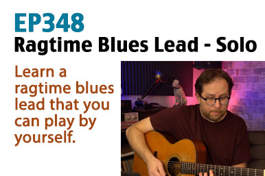 ragtime blues guitar lesson