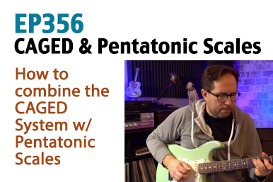 CAGED System Pentatonic Scale