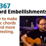 chord embellishment guitar lesson