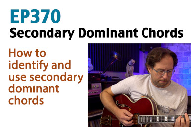 secondary dominant chord guitar lesson