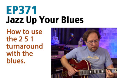 jazzy blues guitar lesson