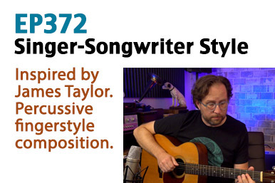 singer song writer guitar lesson