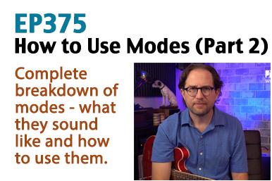 guitar mode lesson