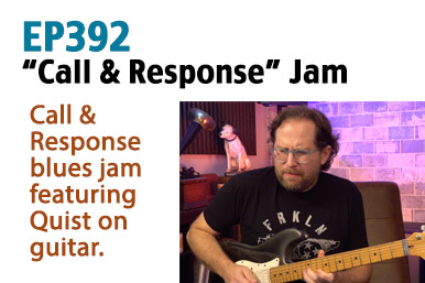 call and response blues guitar
