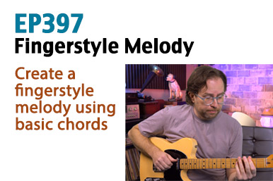 fingerstyle melody guitar lesson