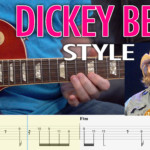 dickey betts guitar lesson